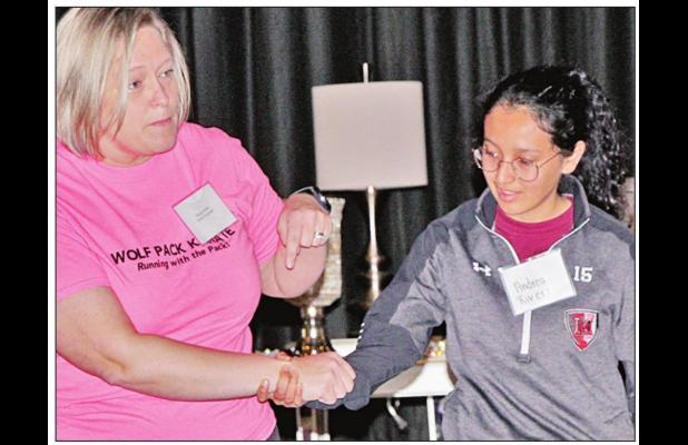 Women's conference features self-defense and etiquette